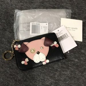 Kate Spade Dog Key/card Holder